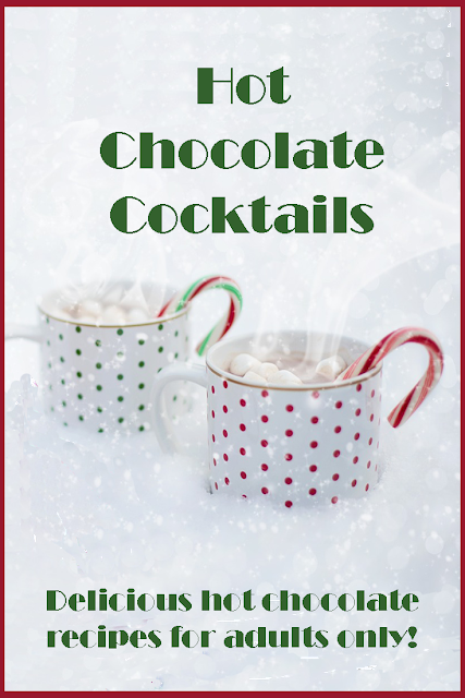 There's nothing better than a delicious hot chocolate cocktail on a cold winters night