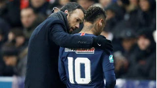Neymar walked off in tears after landing awkwardly on his ankle against Strasbourg