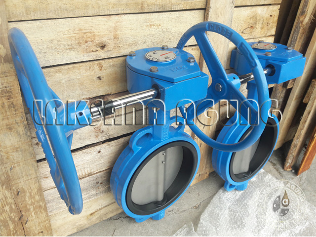 PIC BUTTERFLY VALVE TOZEN MODEL GEAR
