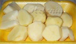 почистить картофель;