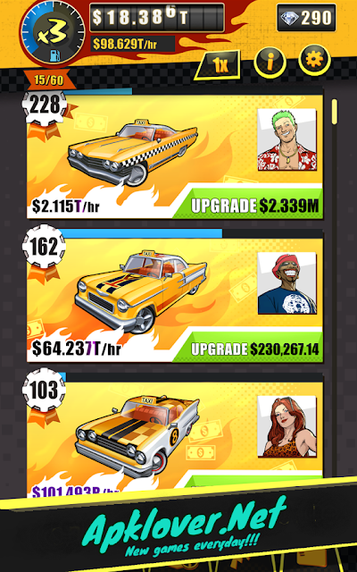 Crazy Taxi Gazillionaire MOD APK unlimited money