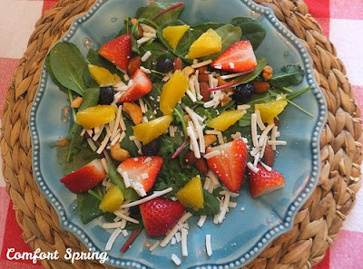 citrus berry salad