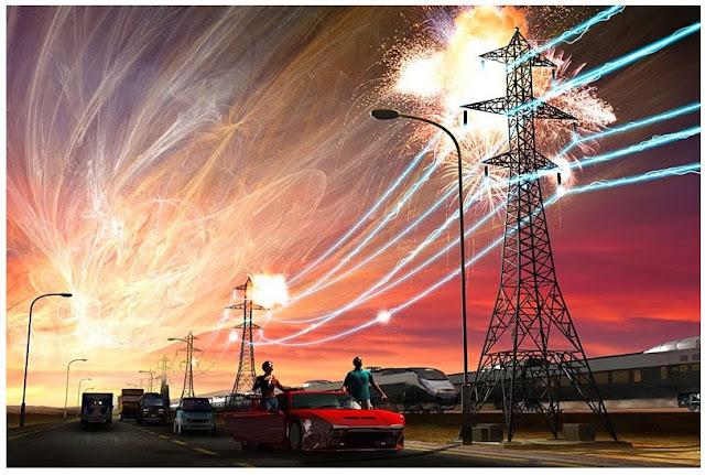 Tempestade geomagnética - tempestade solar nos dias atuais