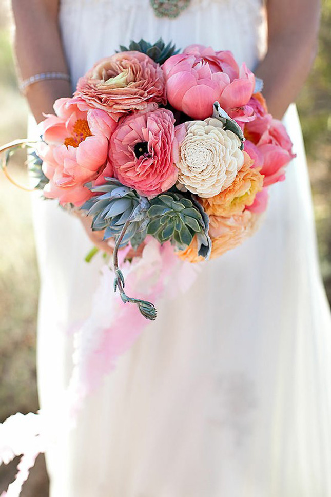 Wedding Trends Peony Bouquets Part 1 Belle The