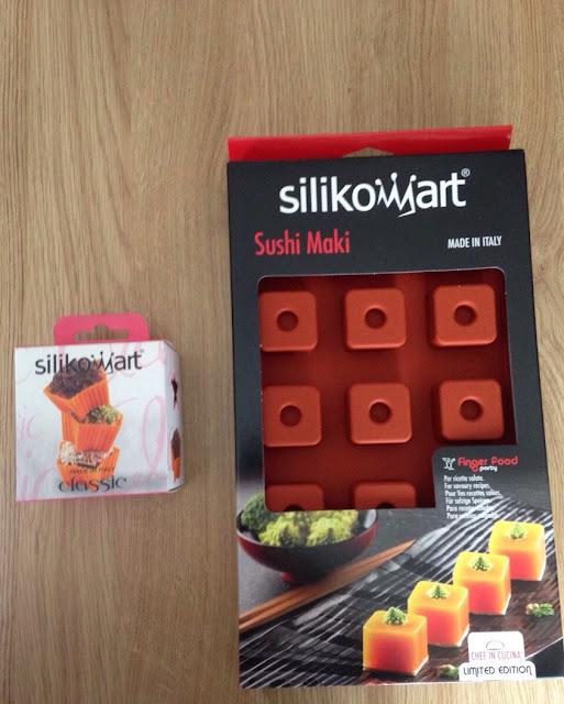 Sushi Maki et Star - renouvellement partenariat Silikomart