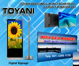 Toyani Android System Digital Signage EF50