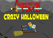 juegos adventure time crazy halloween