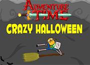 juegos adventure time crazy halloween