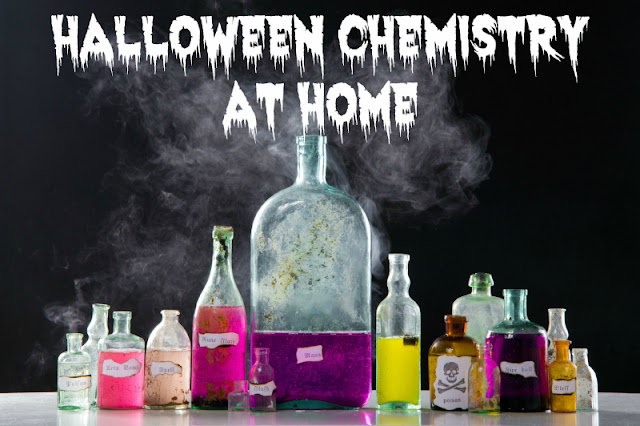 Amazing Halloween Chemistry for Parties or Play