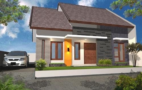 70 contoh desain rumah minimalis type 60 bergaya modern