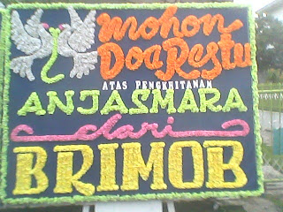 papan bunga pekanbaru