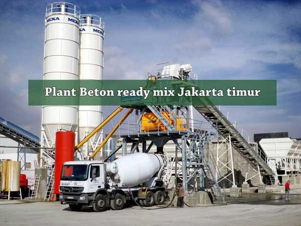 HARGA BETON COR JAYAMIX JAKARTA TIMUR PER M3 2020