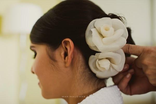 flores - bazar - flores tecido - arranjo cabelo - acessorios - noiva - penteado