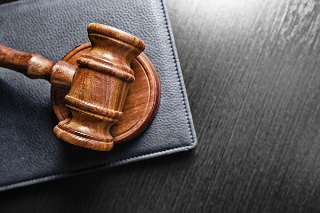 Judge's gavel at iceland's Althing