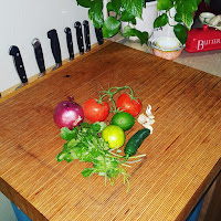 Pico de Gallo Ingredients