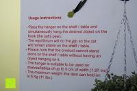 Infos: ARTORI Design AD273B - Louis' Paw - Black Metal Cat Decorative Balance Hanger by Artori Design