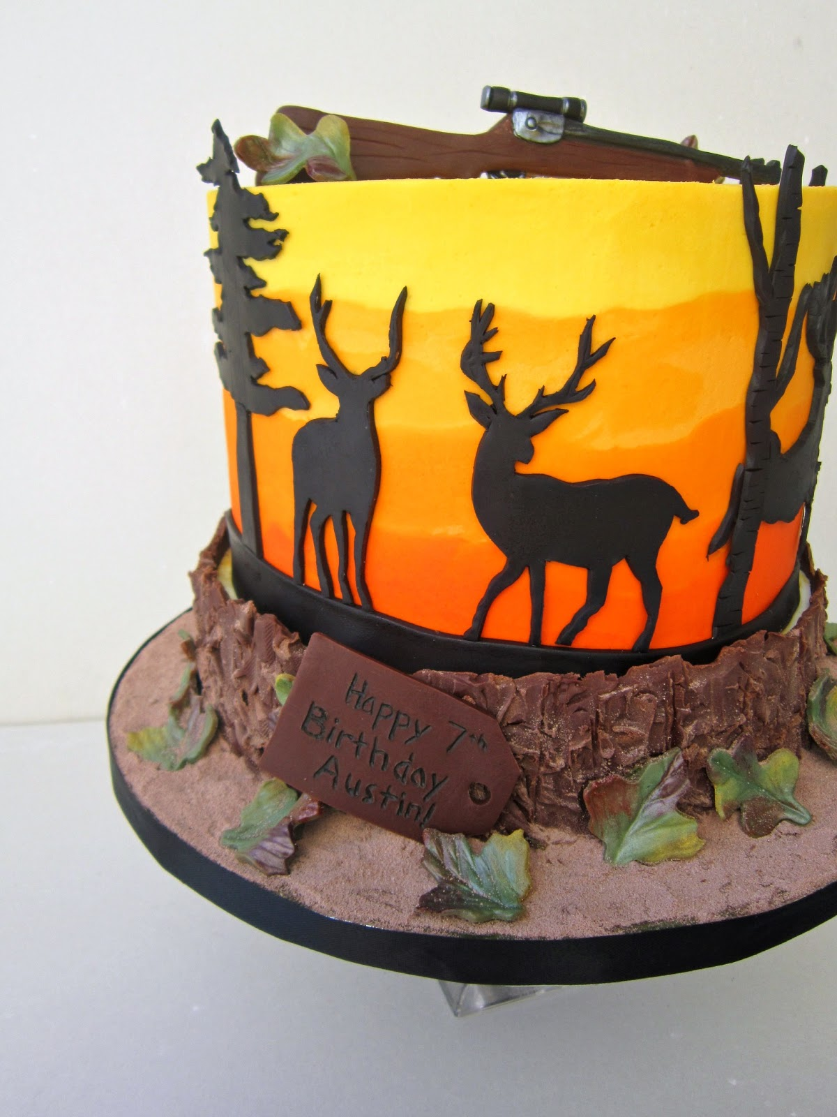 delectable cakes deer hunting