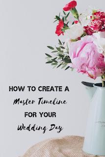 5 ways to create a wedding timeline