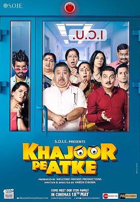 Poster Of Hindi Movie Khajoor Pe Atke 2018 Full HD Movie Free Download 720P Watch Online