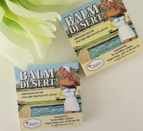 The Balm Balm Desert bronzantas/skaistalai - ir dar šešėliai???