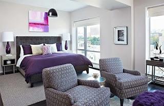 Dormitorio púrpura
