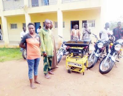 Robbers Kill Okada Man & Took His Bike... Trailer Crushes One Of Them To Death