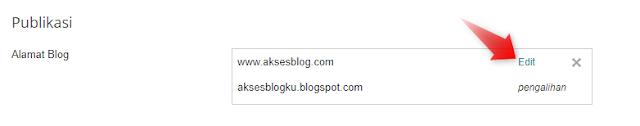Mengatasi Url Blog Custom Domain Tanpa (www) Tidak Bisa di Akses