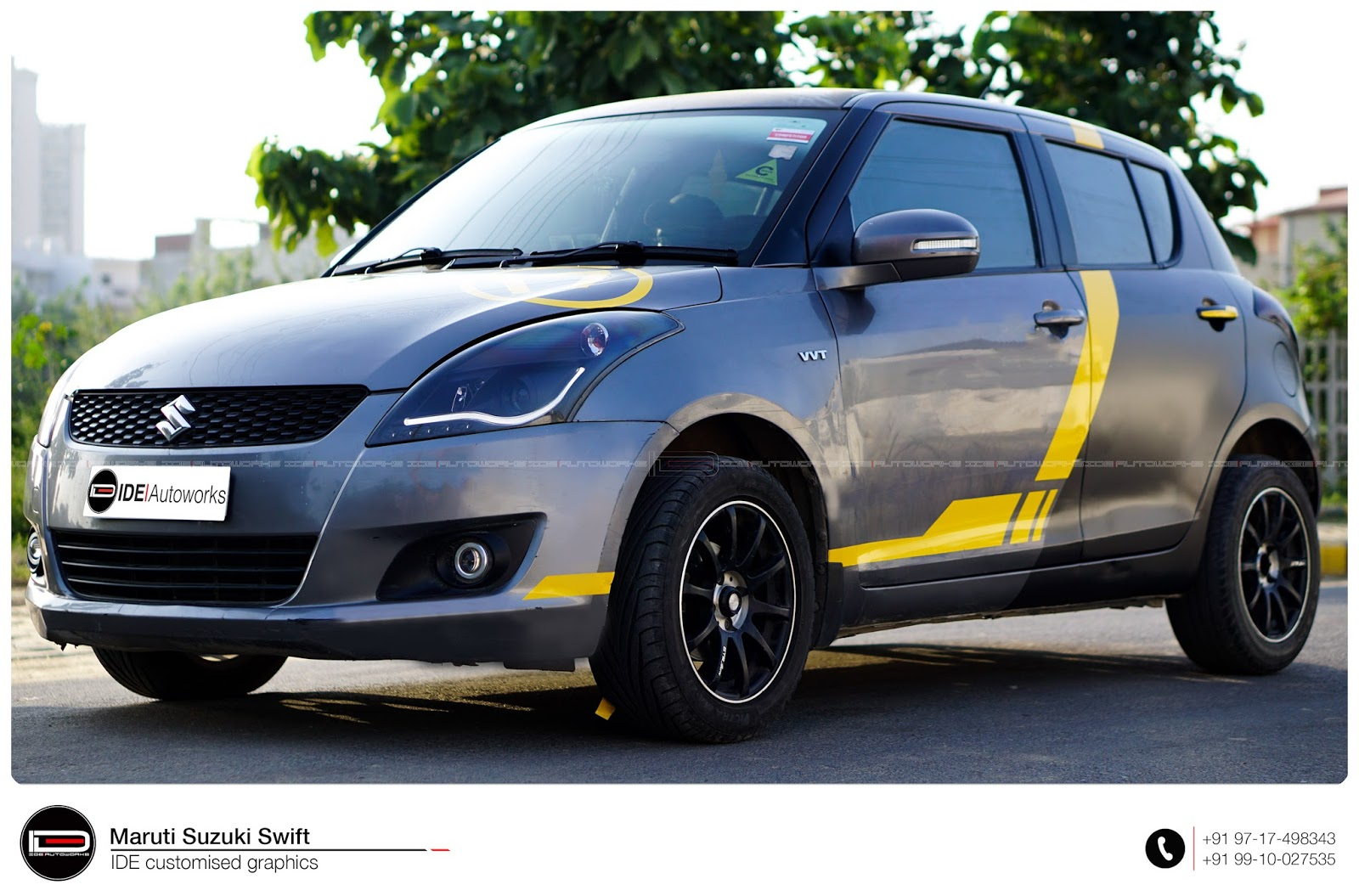 Swift: Racing Wrap | IDE Autoworks