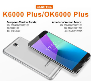 Ok6000 plus 4G LTE price and specification US Model