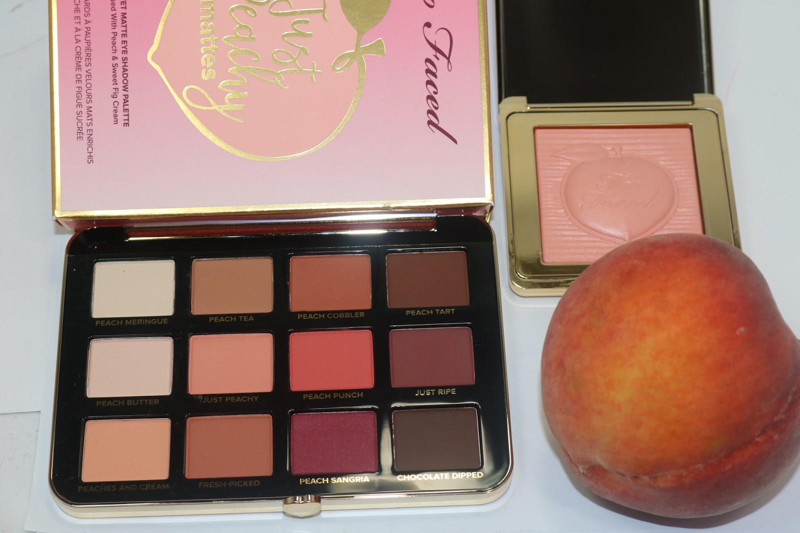 TooFaced Peaches and Cream Collection
