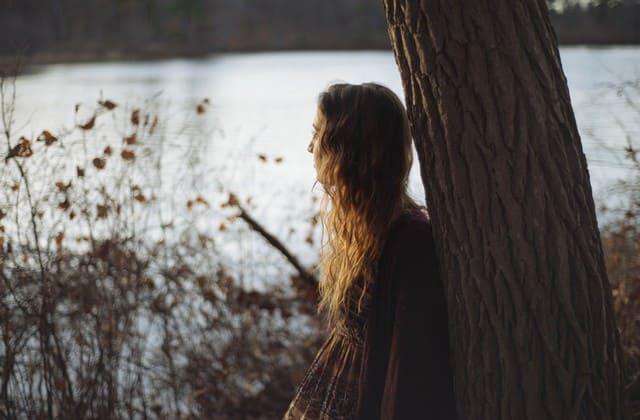 melihat alam terbuka untuk menghilangkan pikiran negatif