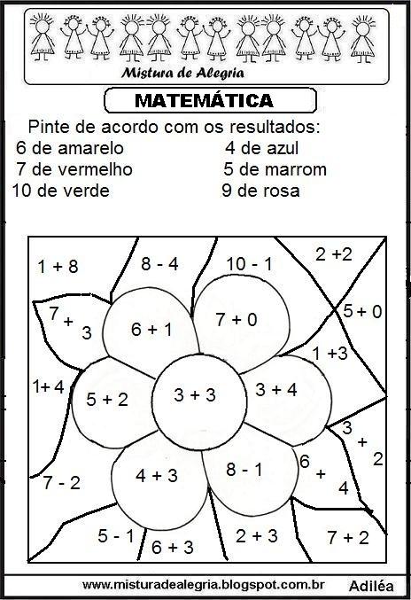 Fabuloso ATIVIDADES DE MATEMÁTICA PARA SÉRIES INICIAIS DE ALFABETIZAÇÃO  YR77