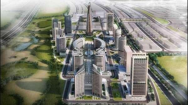 احياء العاصمة الادارية الجديدة - مشروعات العاصمة الادارية الجديدة