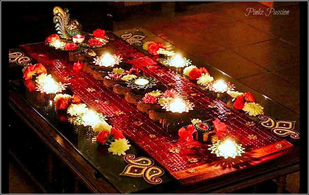 pinkz passion exchange of diwali creativity diwali is a much loved festival of mine i think eat drink sleep decor ideas during this festive season i am a traditionalist of indian decor and