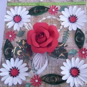 Cards crafts kids projects handmade flower tutorials for Handmade paper flowers tutorial