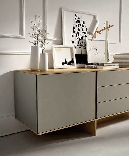 Buffet aparador balc o e bancada for Mueble buffet moderno