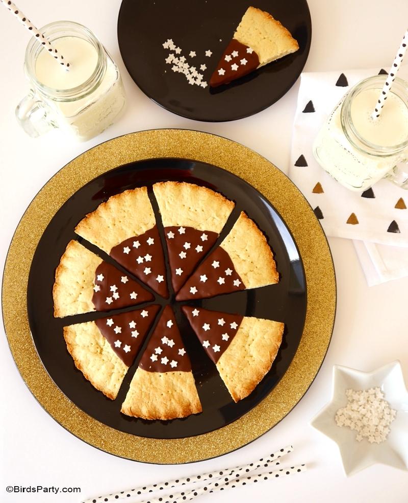 Scottish Shortbread Christmas Tree Cookies