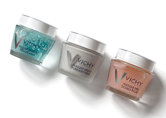 Vichy Mineral Face Masks Review Oily Acne Prone Skin Quenching Double Glow Peel Pore Purifying Clay