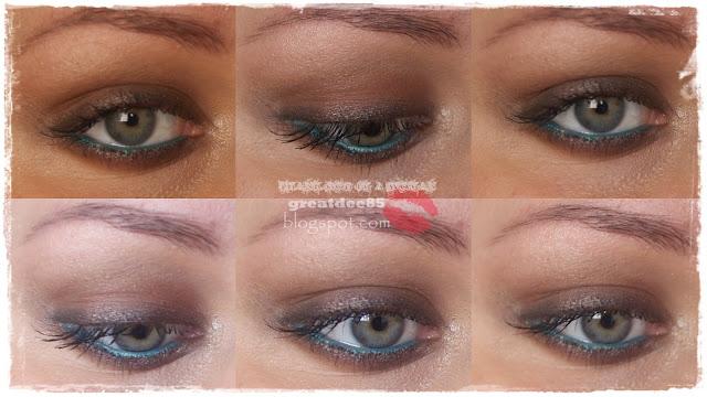 Czwartkowe Makijaże Letnie Brązowe Smoky Eye Thursday Make Ups