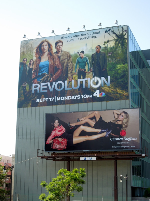Revolution NBC billboard
