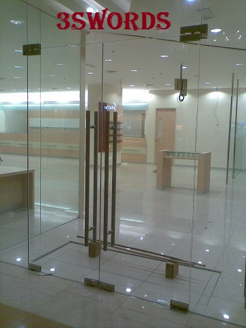 The Composition Of A Tempered Glass Door Details Of