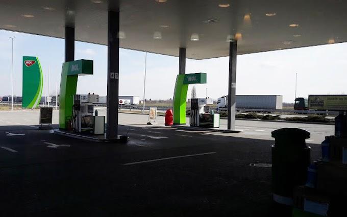 Mol Petrol Horgos (Sırbistan Yönü)