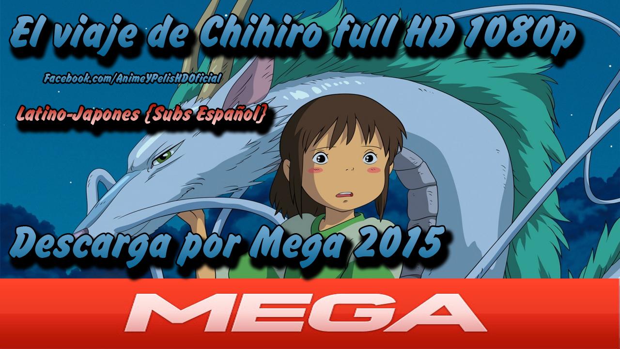 El viaje de Chihiro (2001) Blu-Ray y DVDRip Audio Latino ...