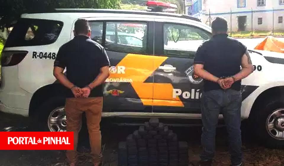PM prende traficantes com quase 50 kg de pasta base de cocaína em Jacutinga (MG)