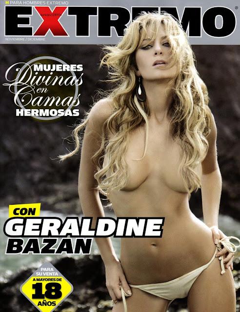 Geraldine Bazan desnuda en H extremo
