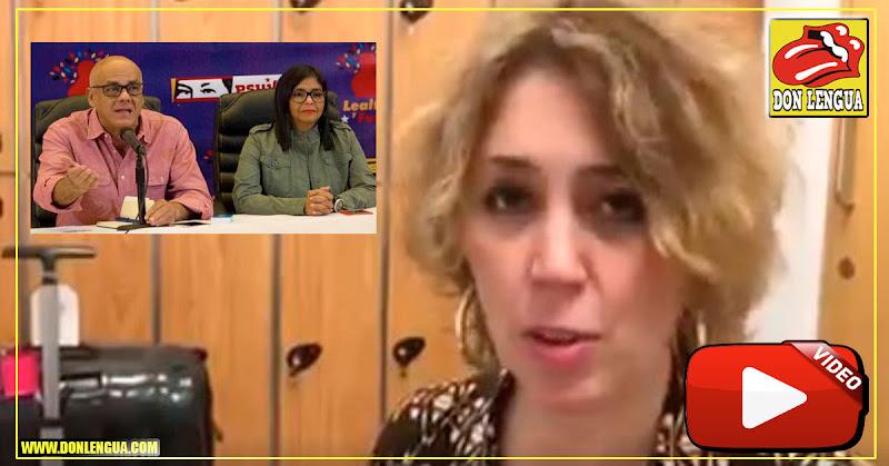 Gabriela Montero le escribió una canción a Delcy la Fea y a Jorge Rodríguez