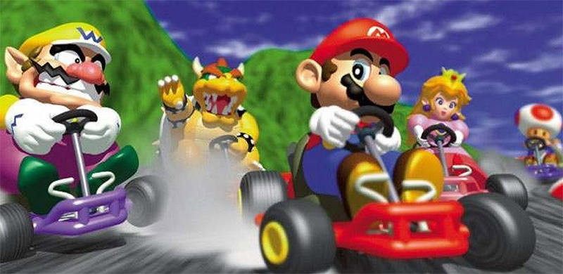 Artificial Intelligence Plays Mario Kart 64