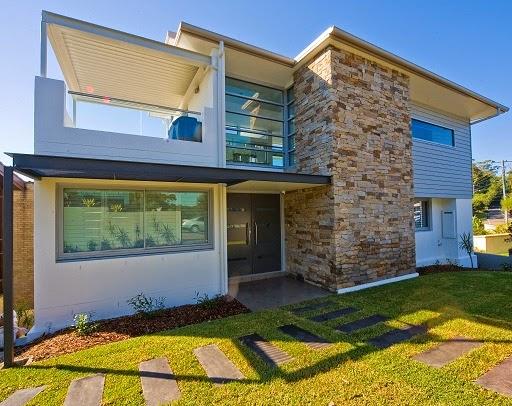 Fachadas de piedra fachada casa con piedra - Piedra fachada exterior ...