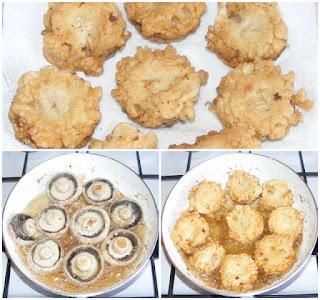 ciuperci, ciuperci pane, ciuperci in aluat pane prajite la tigaie, retete, retete de mancare, preparate din ciuperci, retete cu ciuperci, retete culinare,