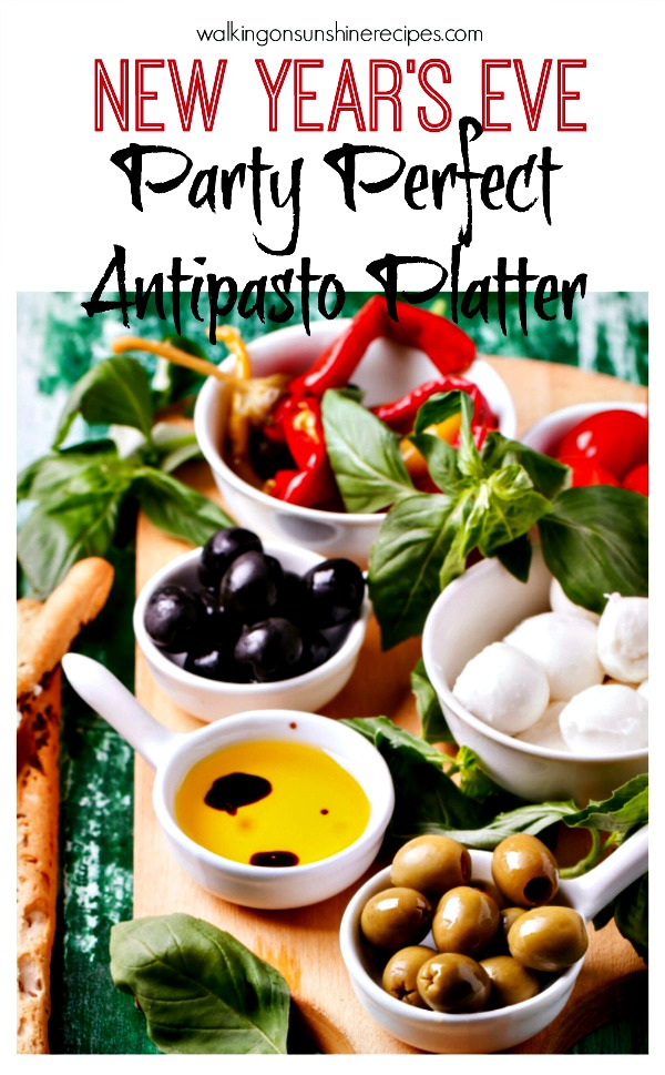 How to put Together a Party Perfect Antipasto Platter from Walking on Sunshine